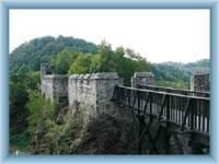 Cornštejn - kleine Brücke
