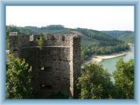 Cornštejn - Reste vom Bergturm