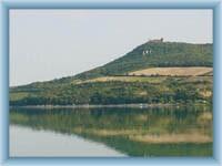 Burgruine Dívčí hrad von Nové Mlýny