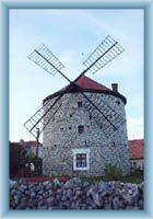 Ostrov bei Macocha - Windmühle