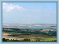Stausee Nové Mlýny - umliegende Gegend