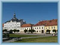 Stadtplatz in Valtice