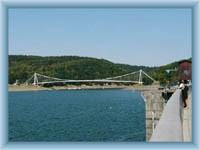Wassersperre in Vranov - Brücke