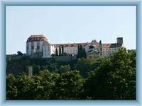 Schloss Vranov aus der Stadt
