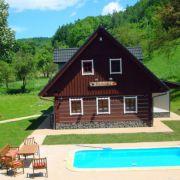 Holzhütte Veverka
