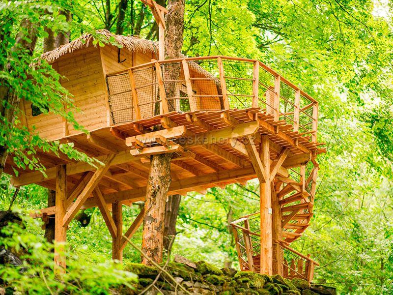Treehouse unter Ještěd