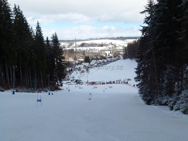 Skiareal Kamenec