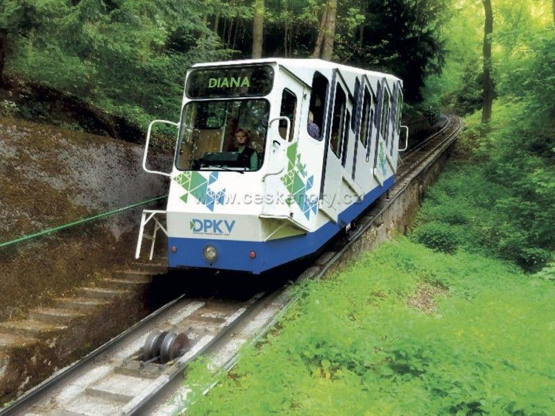 Seilbahn Karlovy Vary - Diana