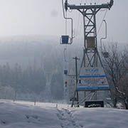 Seilbahn auf Javorový vrch