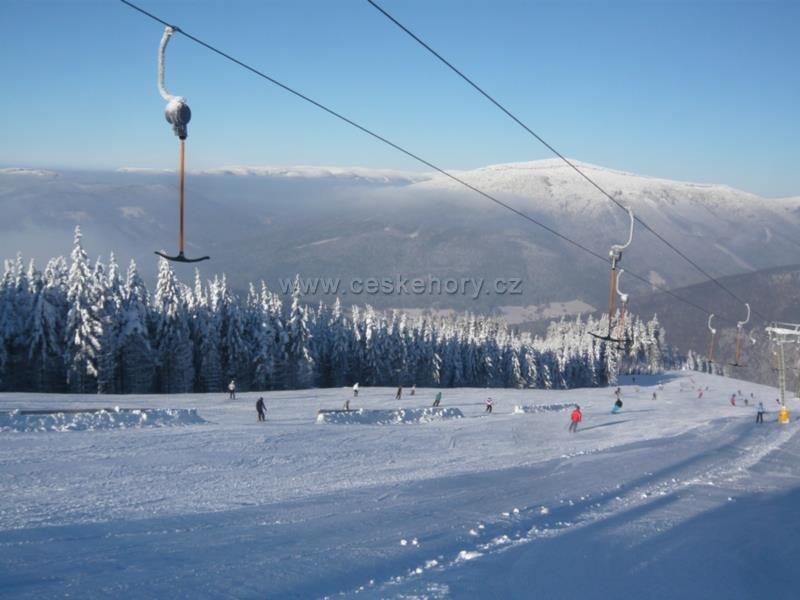Ski Areal Kouty