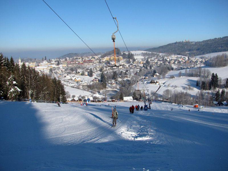 Skiareal Kašperské Hory