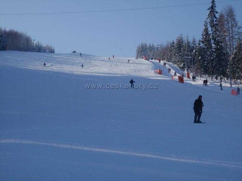 Skiareal Peklák