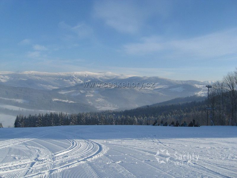 Skiareal Šachty - Vysoké nad Jizerou