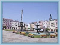 Stadtplatz in Broumov