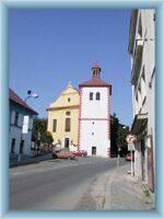 Kirche in Dobruška