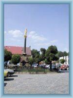 Stadtplatz in Hronov