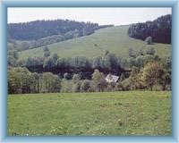 Gipfel Adam bei Petrovice