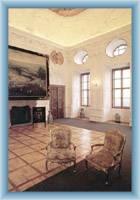 Interieur vom Schloss in Náchod
