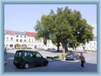 Stadtplatz in Rychnov nad Kněžnou