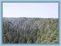 Felsen Teplické skály von Střmen