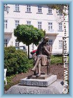 Mareinbad - Monument - J. W. Goethe