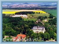 Zahrádky - Schloss