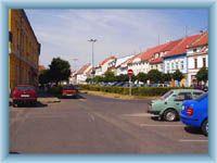 Libochovice - Stadtplatz