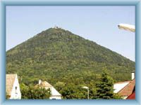 Gipfel Milešovka