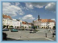 Česká Lípa - Stadtplatz