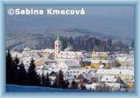 Kašperské Hory im Winter