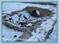 Kašperské Hory, Archäologisches Gebiet