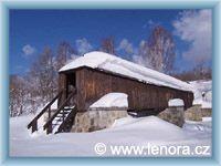 Lenora - Bedeckte Holzbrücke