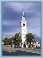 Kirche in Kašperské Hory