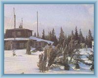 Meteorologische Station auf Churáňov