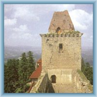 Burg in Kašperské Hory