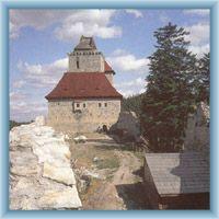 Burghof von Kašperk