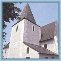 Kirche St. Martin in Nicov