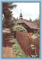 Hütte von Klostermann in Srní