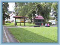 Zentrum der Gemeinde Srní