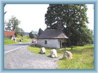 Kleine böhmerwaldische Kapelle bei Železná Ruda