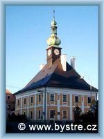 Bystré - Rathaus