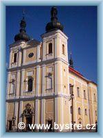 Bystré - Kirche