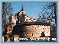 Bystřice nad Pernštejnem - Burg Pernštejn