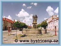 Bystřice nad Pernštejnem - Brunnen