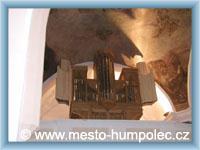 Humpolec - Organ