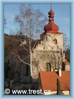 Třešť - Kirche