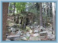 Felsengebilde auf Čeřínek