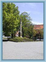 Stadtplatz in Chotěboř