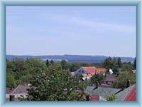 Anblick aus dem Umgang der Kirche in Chotěboř