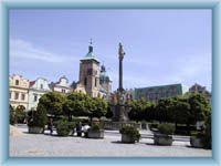 Stadtplatz in Havlíčkův Brod